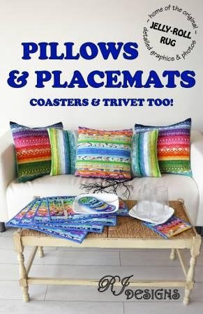 Pillows & Placemats Coasters & Trivet Too