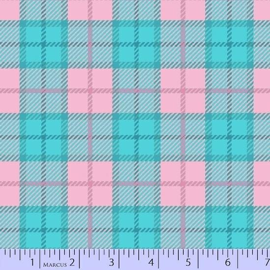 Primo Plaid Flannel Pink/Blue R09-U055-0125
