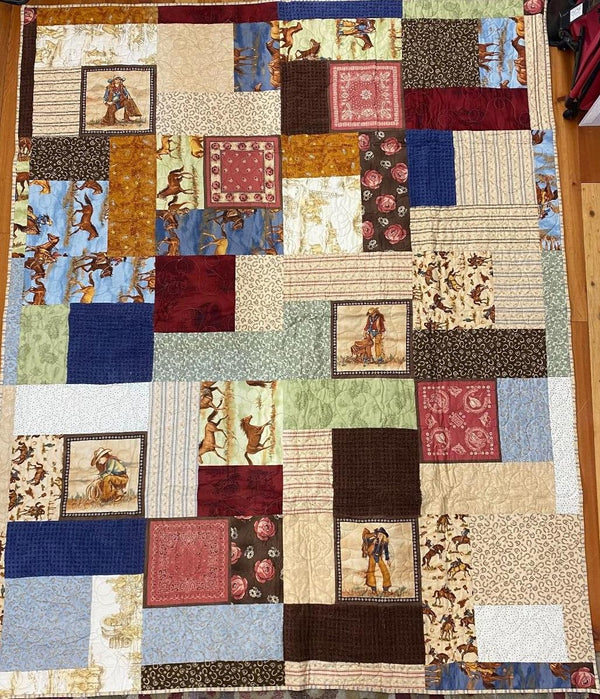 Queen of the Ranch Finished Quilt 83x67.5