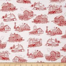 Quilting Treasures Homestead  Barn Toile