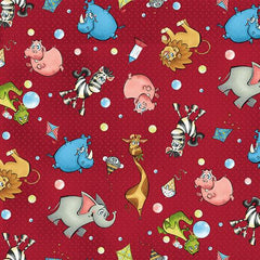 RB A Jungle Story Red 4793 88