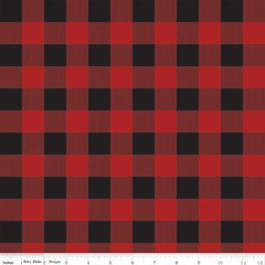 RB Gone Camping Plaid Red C8465-RED