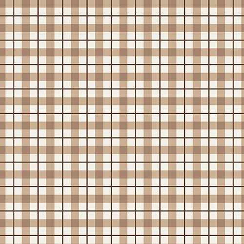 RB Loads of Fun Taupe Plaid 4890 3