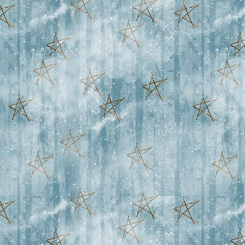 RB Snow Days Faded Stars Blue 1632-11