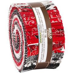 RK Holiday Flourish Silver Roll Ups RU-921-40