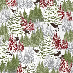 Riley Blake Woodland Haven Flannel Multi F1734 68