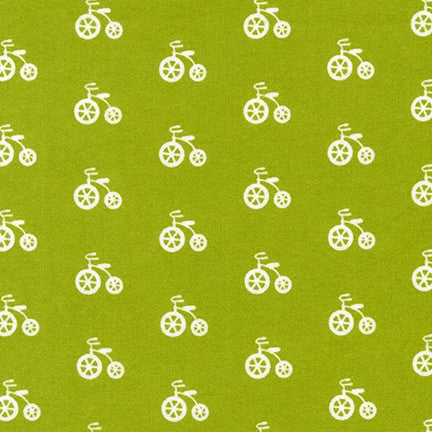 RK Cozy Cotton Grass Bicycle SRKF-17650-47 Flannel