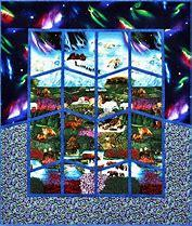 Scene in Alaska...the Interior Pattern Quilts With A Twist 10312