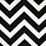 Shannon Fabrics, Inc.Chevron Cuddle Black/Snow 58/60
