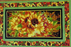 "Sunflower Wall Hanging 51"" x 32"""