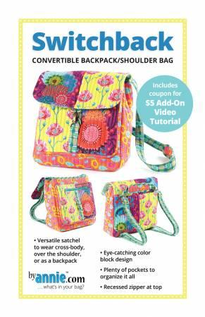 Switchback Convertible Backpack By Annie PBA295