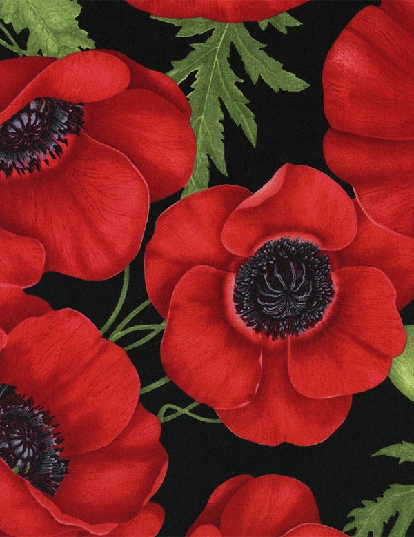 TT Medium Poppy I Red FLORA-C1051