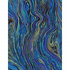 TT Peacock Abstract Marbling PLAZZO-CM2210 Peacock