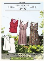 The Mississippi Ave. Dress and Top Sew House Seven