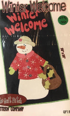 The Quilt Patch Winter Welcome QP158