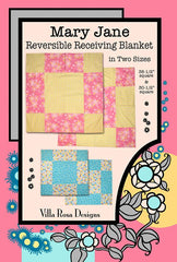 UN Mary Jane Reversible Receiving Blanket VRD BP011