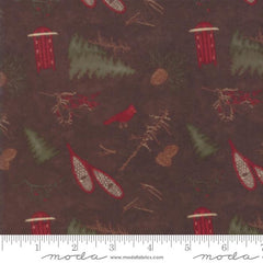 UN Frosted Flannels Walnut  6781 18F Flannel