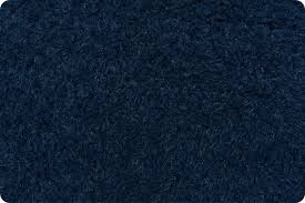 "Shannon Luxe Cuddle Llama  Navy 58/60"" LCLLAM CUDDLE FABRIC"