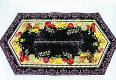 Vegetable Table Runner 33""