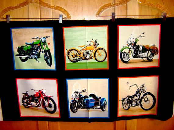 Vintage Motorcycles  #14  Exclusively Quilter's  3908 60537 8
