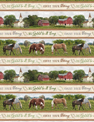 Wilmington Prints Farmstead Repeat 1 Stripe 82559-274