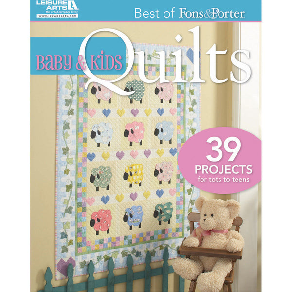 Best of Fons & Porters Baby and Kids Quilts