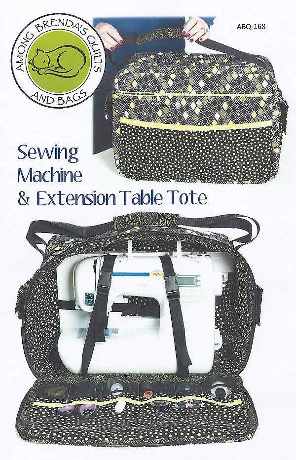 Among Brenda's Sewing Machine & Extension Table Tote