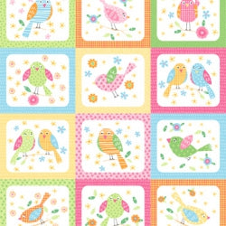 Panel #8F Flirty Birdies  NF F
