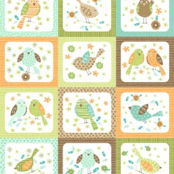 Panel #7F Flirty Birdies  NF F