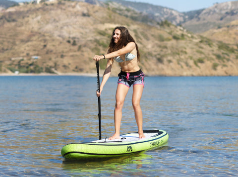 Thrive inflatable paddle board