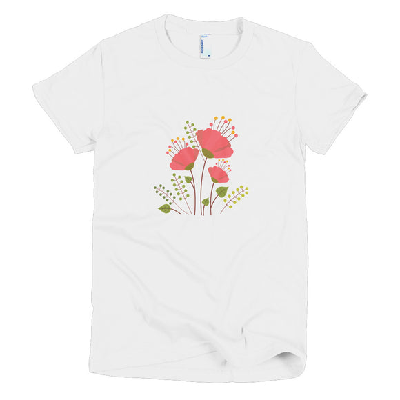 Floral Womens T-Shirt