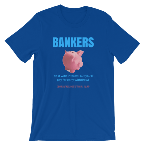 Bankers do it with Interest
