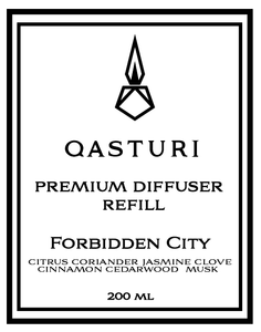 FORBIDDEN CITY - PREMIUM DIFFUSER OIL REFILL