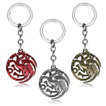 Movie Series Game of Throne House Stark keychain - Shop IB