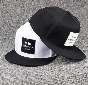N degree 86 Leather Label snapback hat unisex women/men cotton Fashion baseball cap. - Shop IB