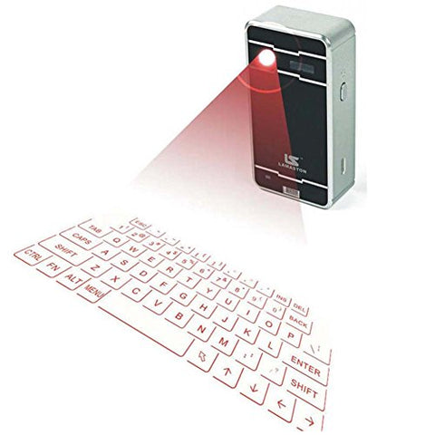 LAMASTON Mini Laser Keyboard Wireless Bluetooth Virtual Keyboard - Shop IB