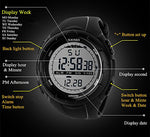 Mens Sports Digital Watch - Outdoor Sport LED Wrist Watch for Men - Shop IB