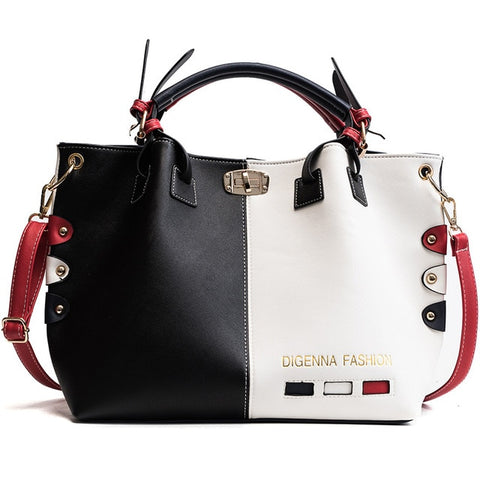 Luxury Handbags Women Bags Designer Womens Panelled Message Bag - Shop IB