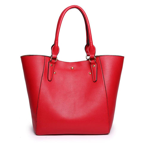 Retro simple shoulder bag handbag - Shop IB
