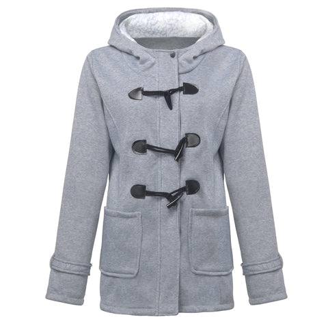 Winter Coat Parkas Spring Autumn Regular Warm - Shop IB