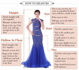 Prom Dress with O-neck Sleeveless Appliques/Stone Red Mermaid Style Formal Evening Dress. - Shop IB