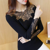 Long Sleeve Net Design Fashionable top for Women - Shop IB