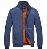 Winter Jacket Men Casual Coats with Slim Fleece - Shop IB
