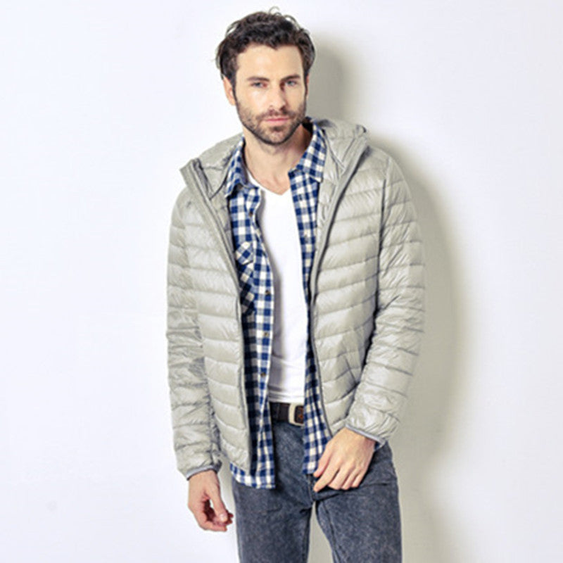 White Duck Down Jacket Men - Shop IB