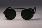 Retro Round Metal Stylish Sunglasses - Shop IB
