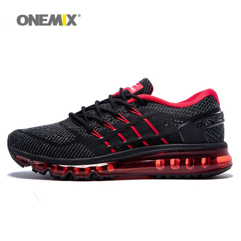 Onemix men running shoes outdoor sport sneakers male athletic shoe breathable - Shop IB