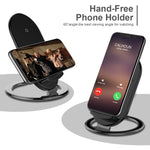 Qi Wireless Charger For iPhone X 8 For Samsung Note 8 S8 Plus S7 S6 Edge Phone Fast Wireless Charging Docking Dock Station - Shop IB