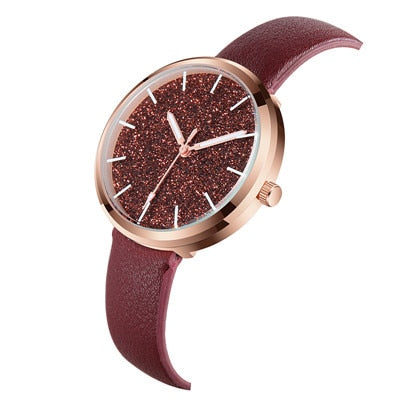 Reloj Mujer Flash powder Lady Analog Women Dress Watch - Shop IB