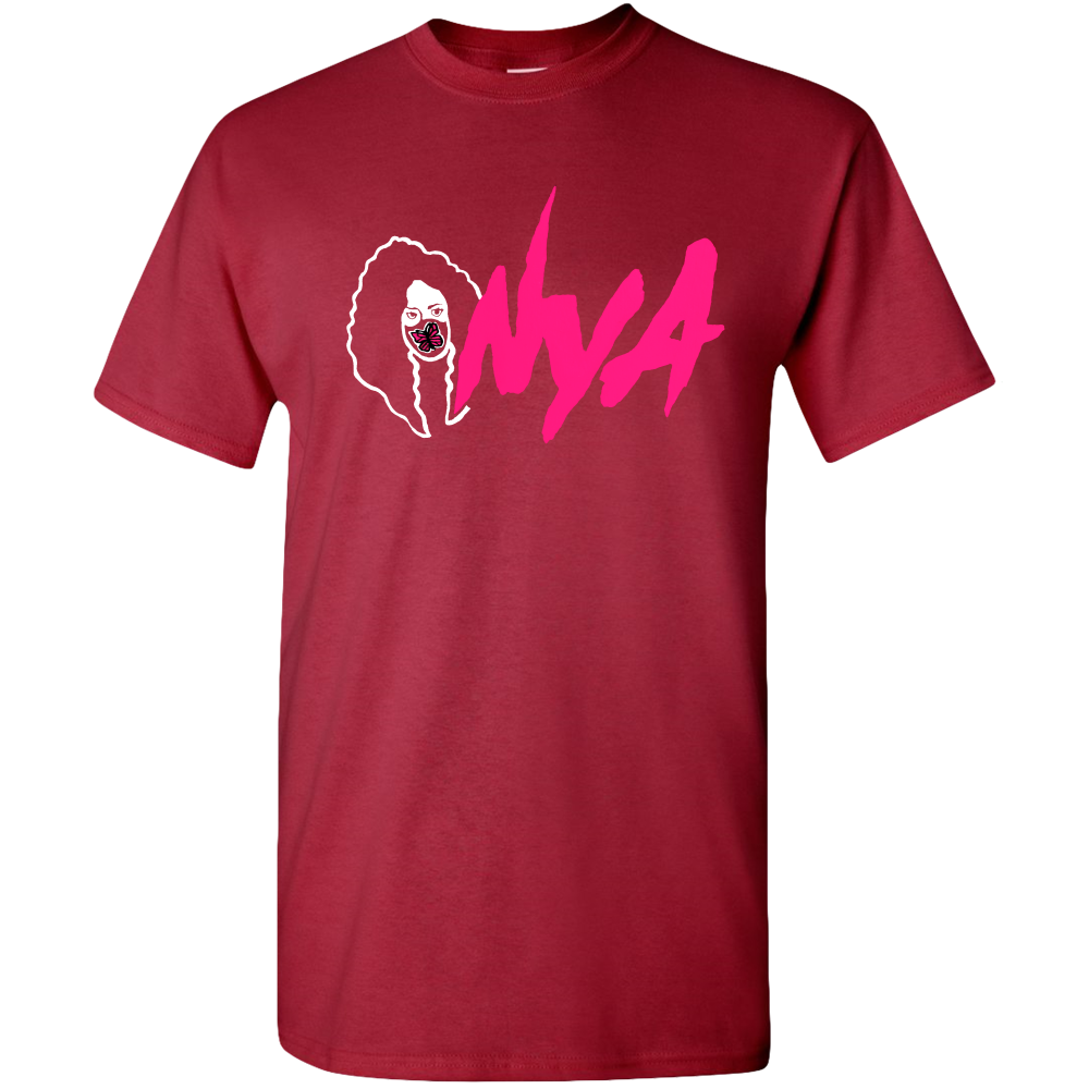 Nya Exclusive promotional Pink Logo Adult Unisex Standard T-shirts