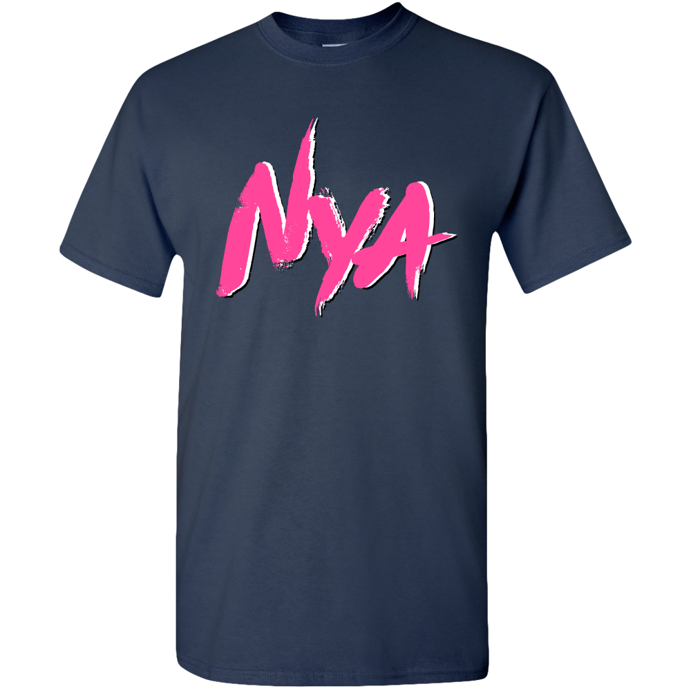 Exclusive Nya Hot Pink Logo Adult Unisex Standard T-shirts